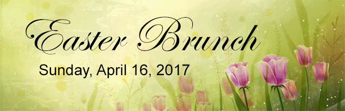 Make Easter extra special with an outstanding brunch!