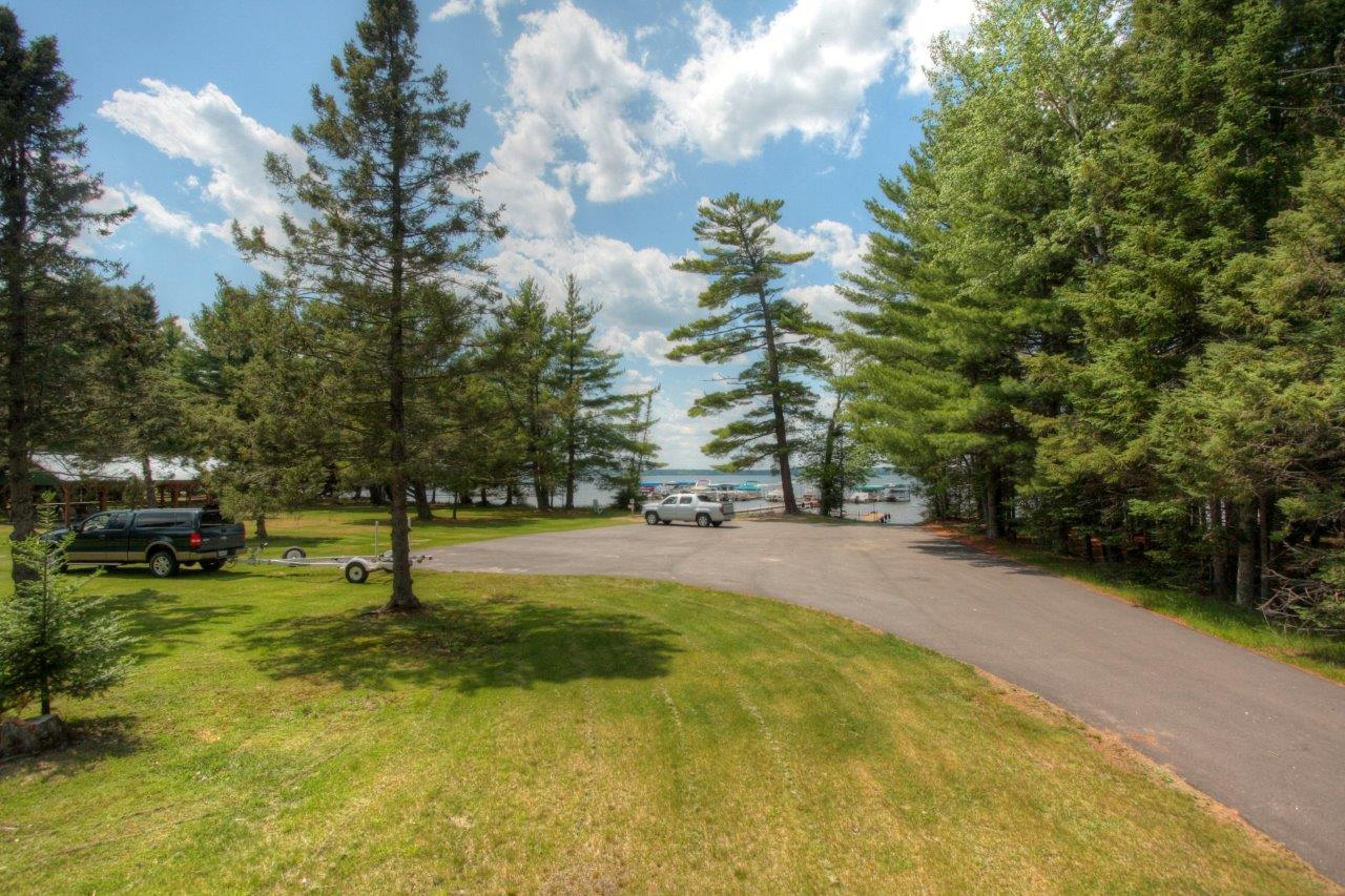Paved Drive to Waterfront Common area, Forest Downs, Big St Germain Lake