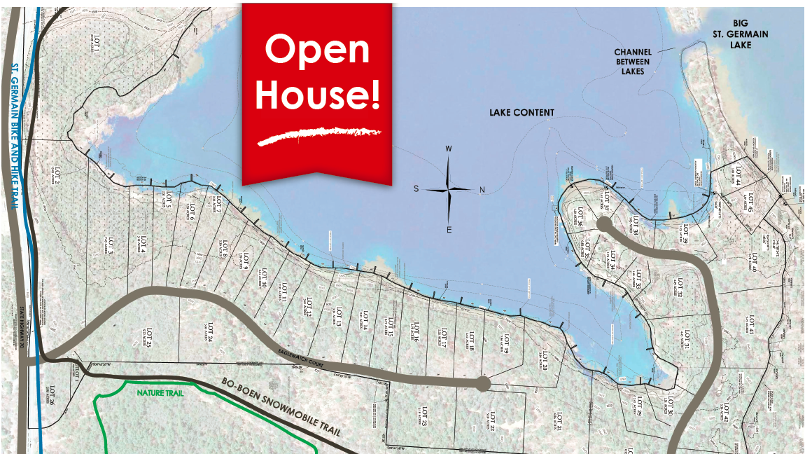 EAGLEWATCH Lake Development Open House Monday, August 17