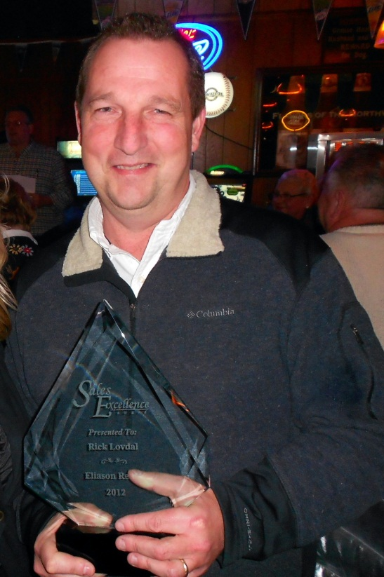 Top Producer 2012 - St Germain Office - Rick Lovdal