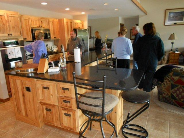 Eliason Realty Agents tour new listings today in Eagle River