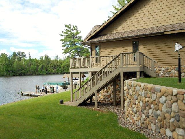 Eagle River Chain Home by Eagle River Golf Course, McKinley Blvd