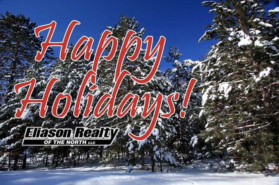 Happy Holidays from Eliason Realty!