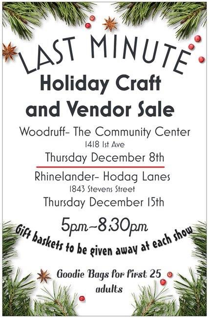All that glitters is at the Last Minute Holiday Craft and Vendor Sales!