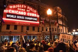 Congrats Cubs Fans!