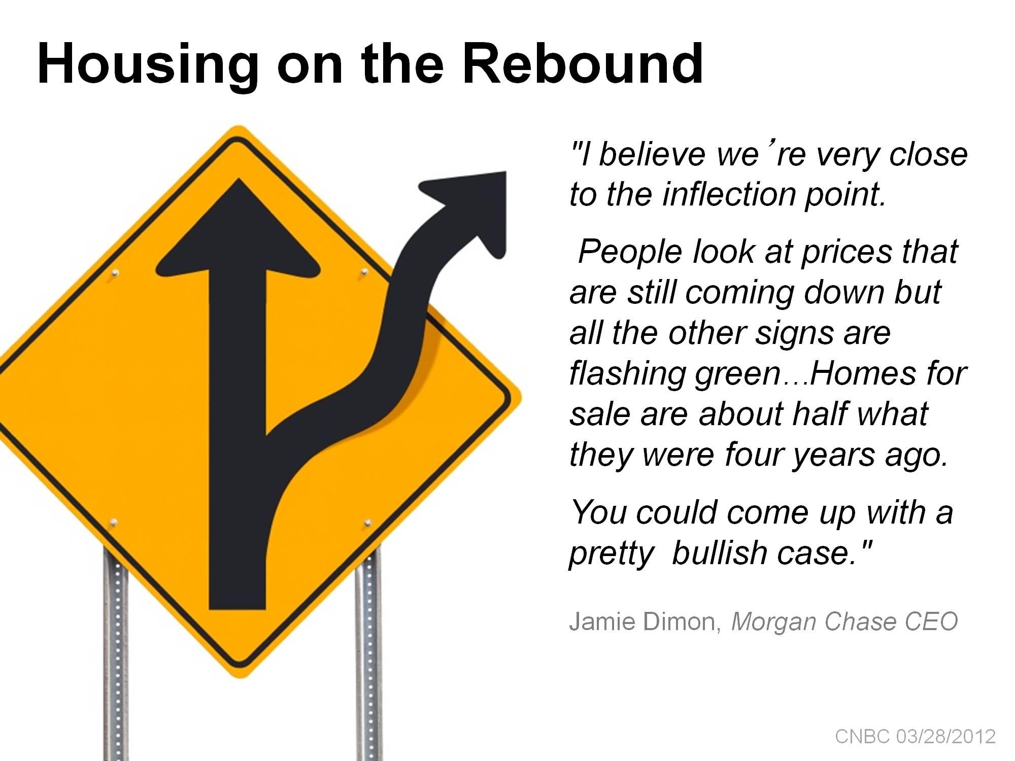 housing on rebound