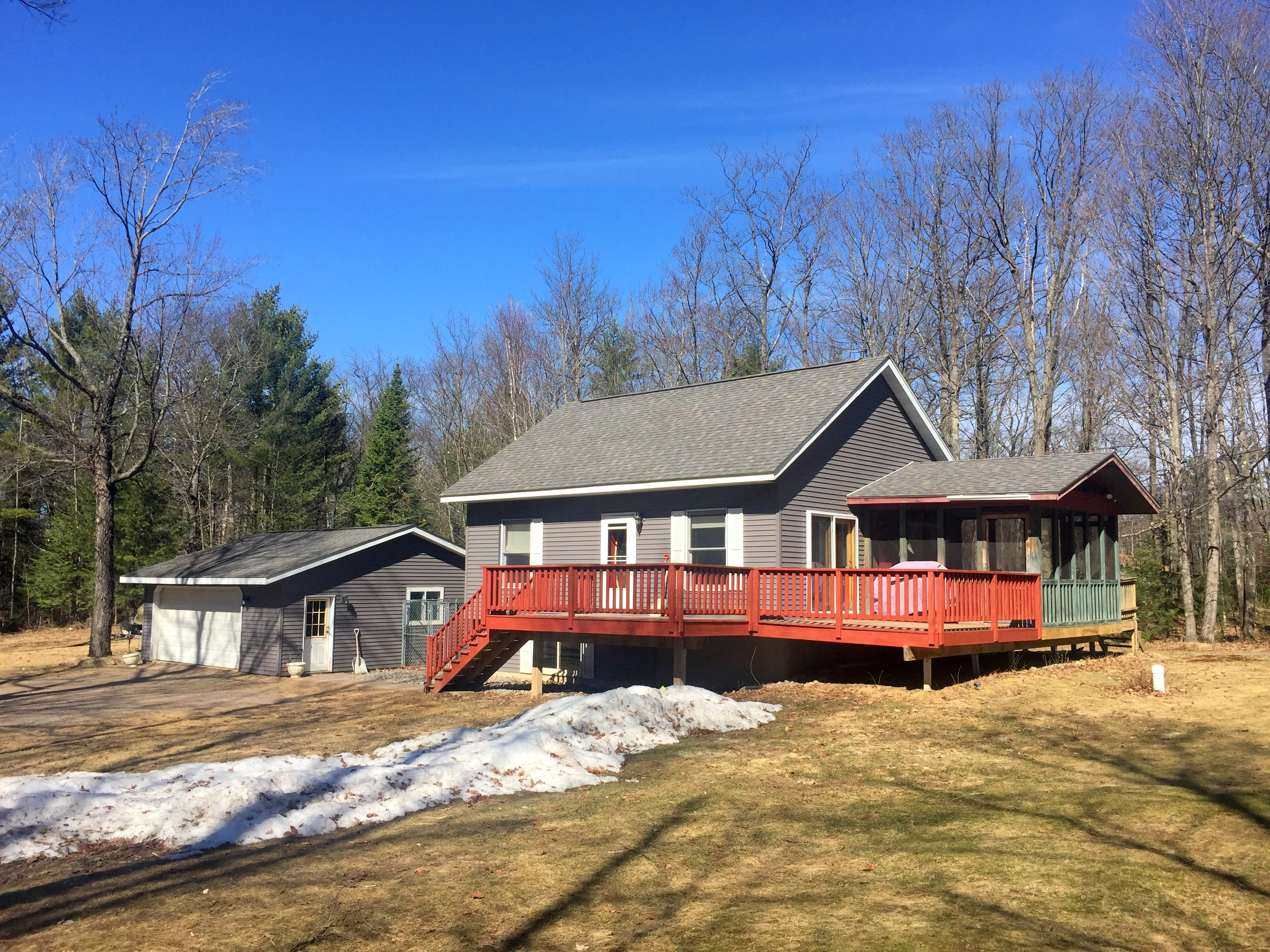 Coming Soon | Eagle River WI Home on 4 Acres For Sale