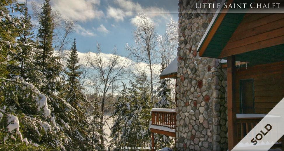 JUST SOLD! | Little St Germain Lake Chalet