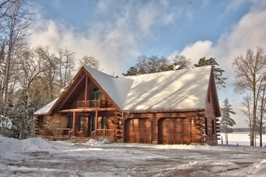 Log Home Listing Photograph Sample - Misinas @ Eliason Realty