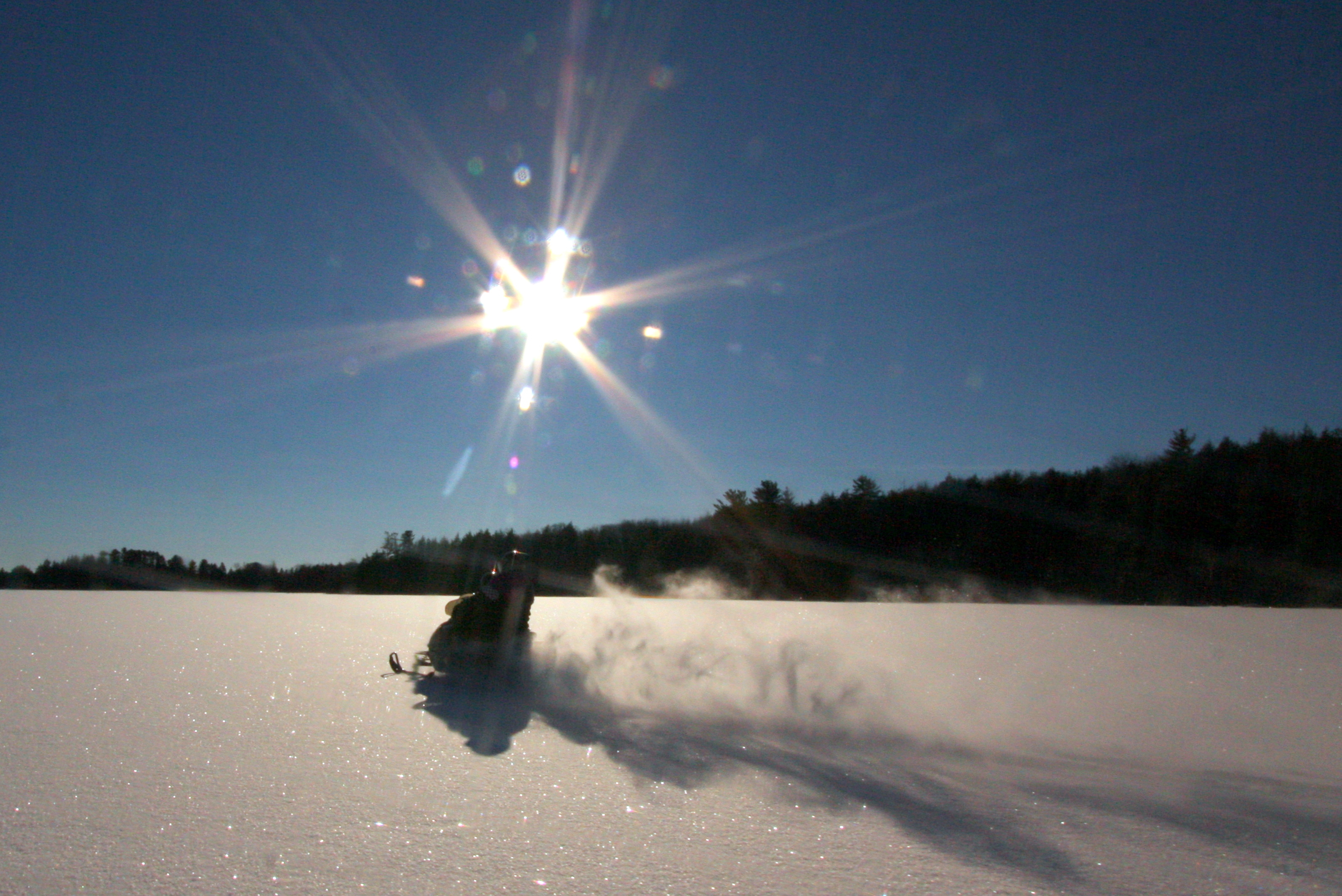 Vilas County Snowmobile Trails Open Today at 4pm
