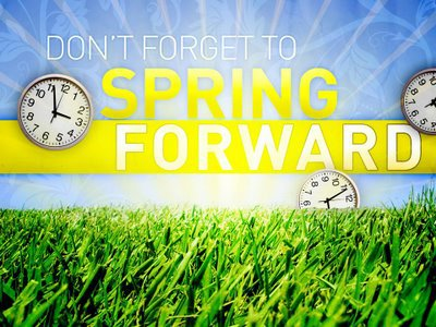 It's time to Spring ahead!