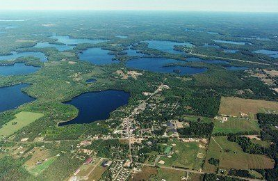 Three Lakes Chain of Lakes, WI - photo from Three Lakes Chamber of Commerce