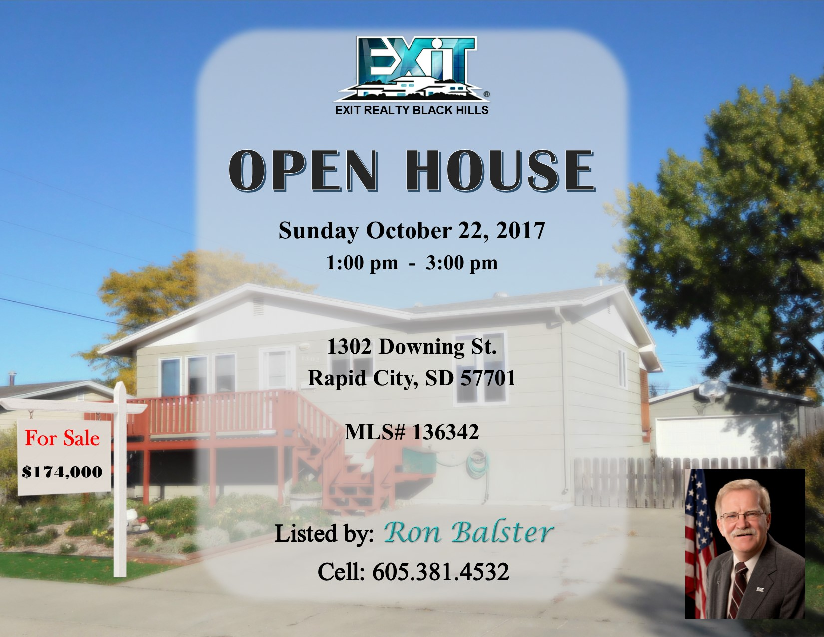 OPEN HOUSE for October 22, 2017