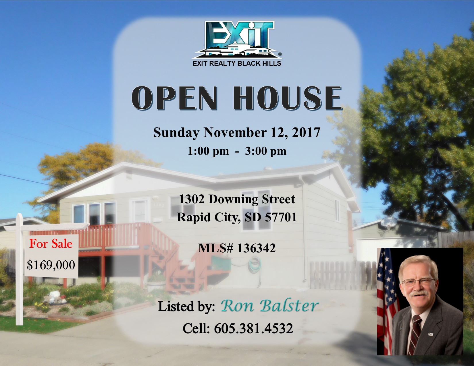 Open House for November 12, 2017