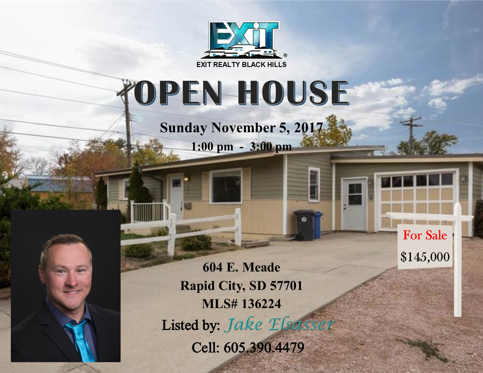 OPEN HOUSE for November 5, 2017