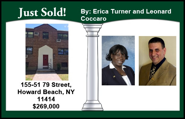 Just Sold by Erica and Leonard in Howard Beach!