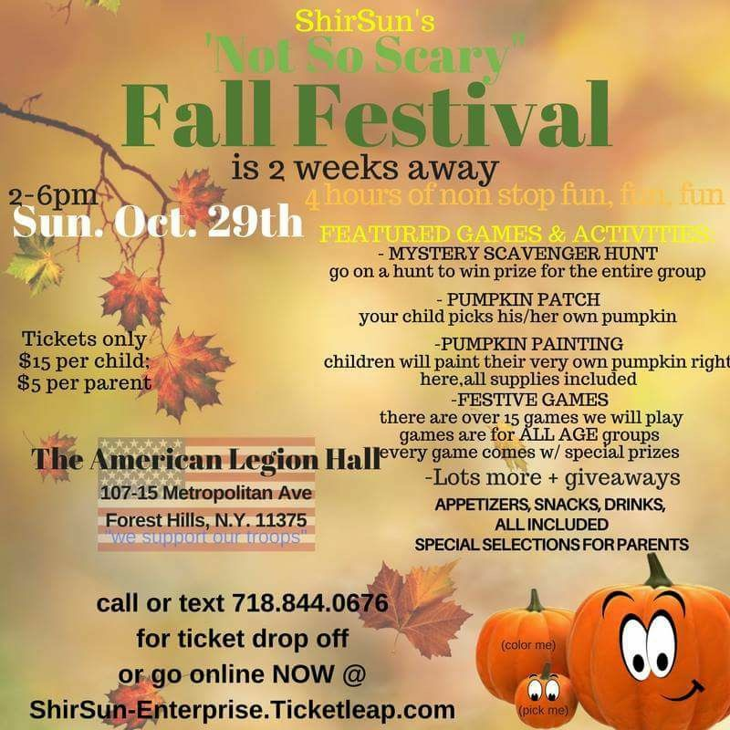 Fall Festival - American Legion Hall, Forest Hills