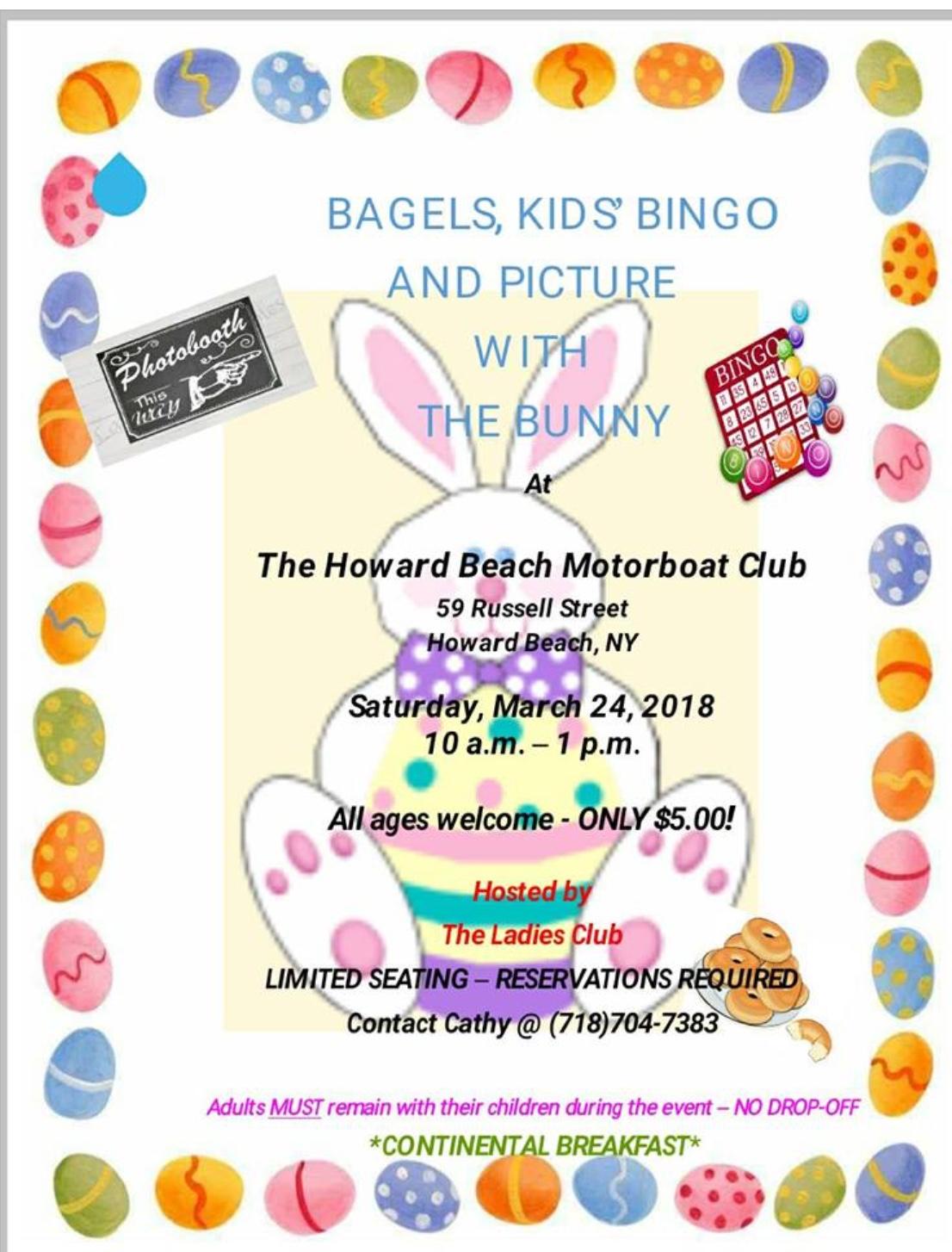 Easter Bingo! 3/24/2018 🐰🐣🌷
