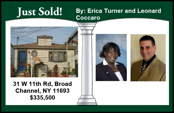 Just Sold by Erica and Leonard in Broad Channel!