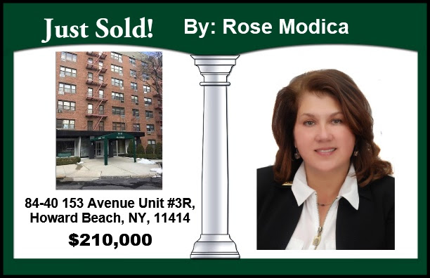 Just Sold by Rose in Howard Beach!