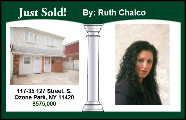 Just Sold by Ruth Chalco in South Ozone Park!