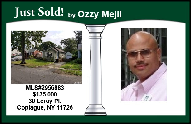 Just Sold in Copiague by Ozzy Mejil