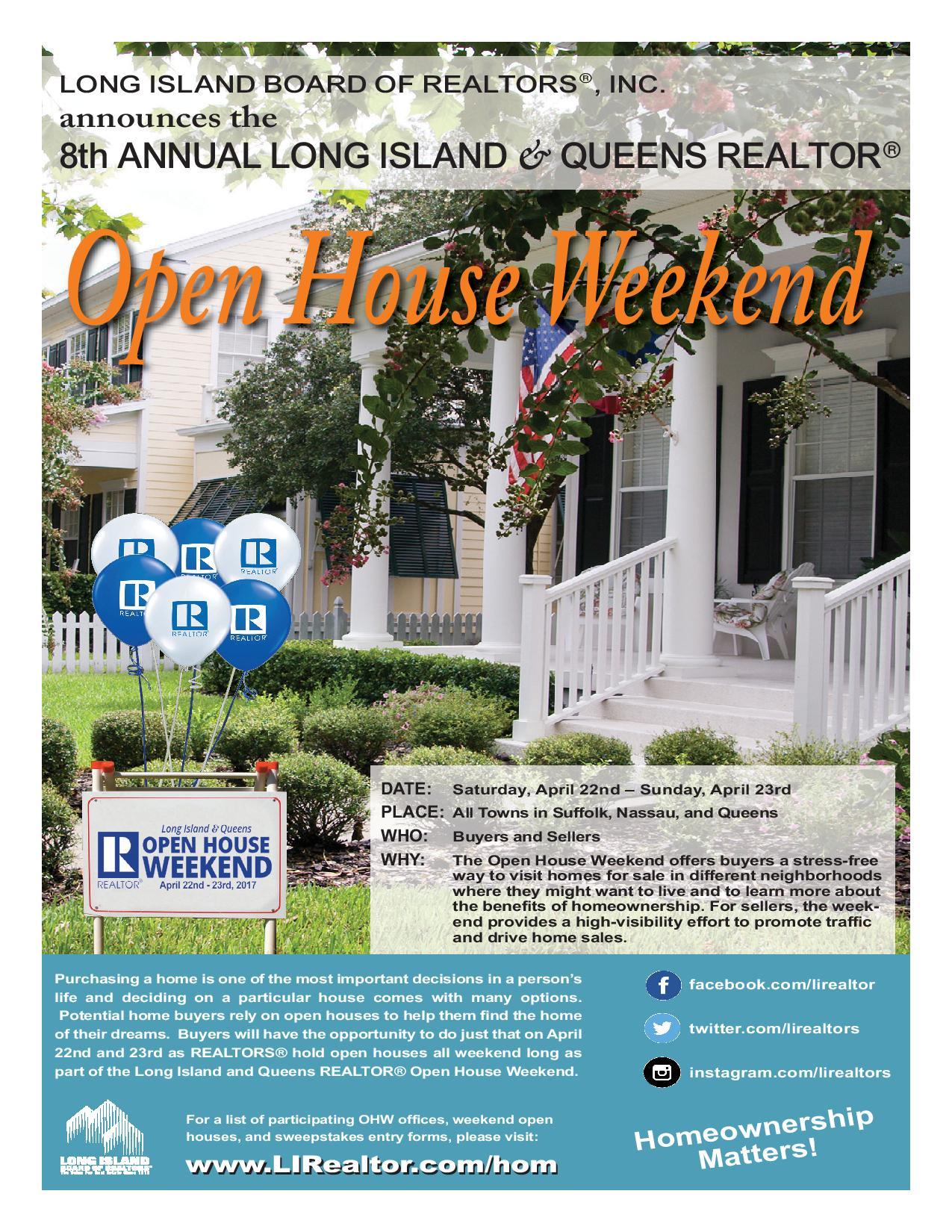 Open House Week-End