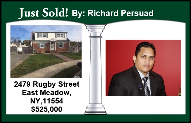 Just Sold by Richard in East Meadow!