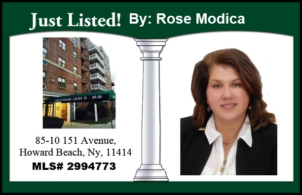 Just Listed by Rose in Howard Beach!