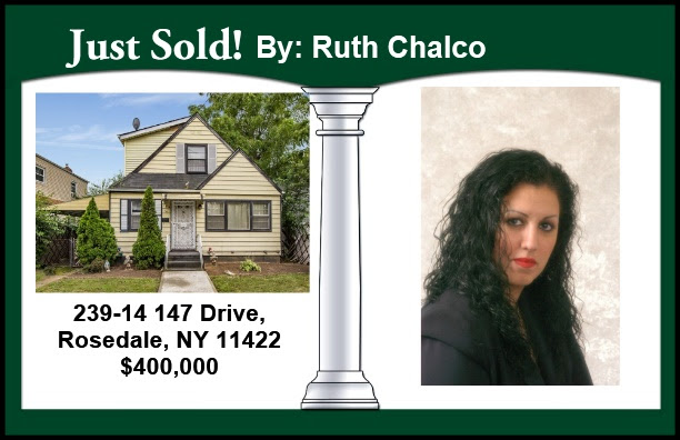 Just Sold by Ruth in Rosedale!
