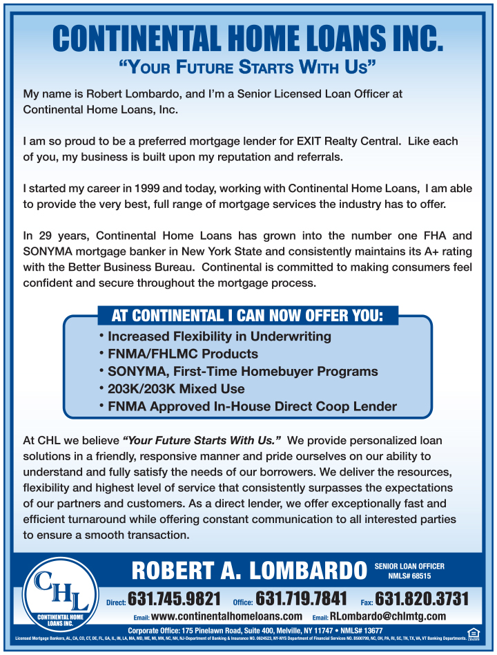 Exit Realty Central featured lender