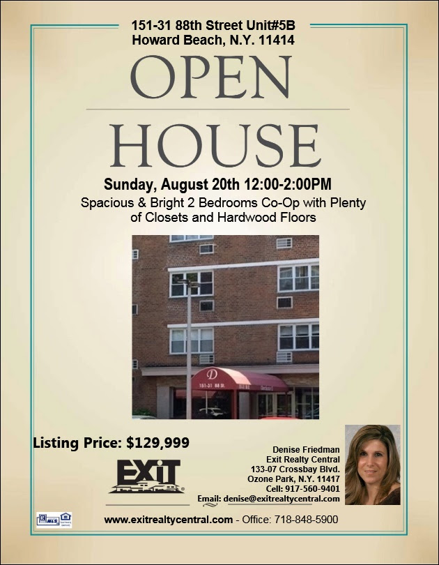 Swing by Our Open House in Howard Beach This Weekend!