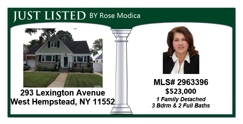 Just Listed by Rose in West Hempstead! Beautiful Move in Ready Single Family Home featuring A Formal Dinning Room, Family Room, 3 Bedrooms, & 2 Full Baths!