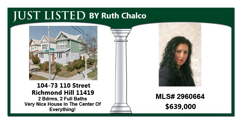 Just Listed by Ruth! A Two Family Detached in Richmond Hill!