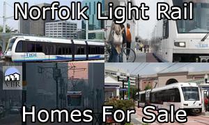 Norfolk Light Rail Homes