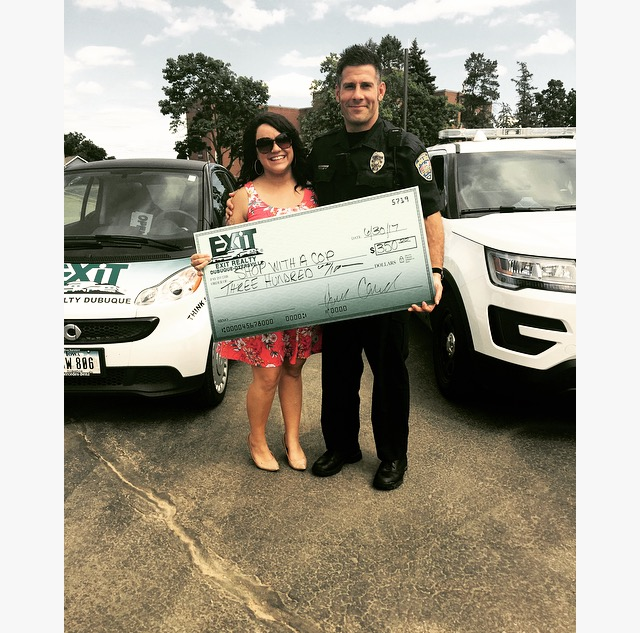 EXIT Realty Dubuque & Dyersville - Shop With a Cop