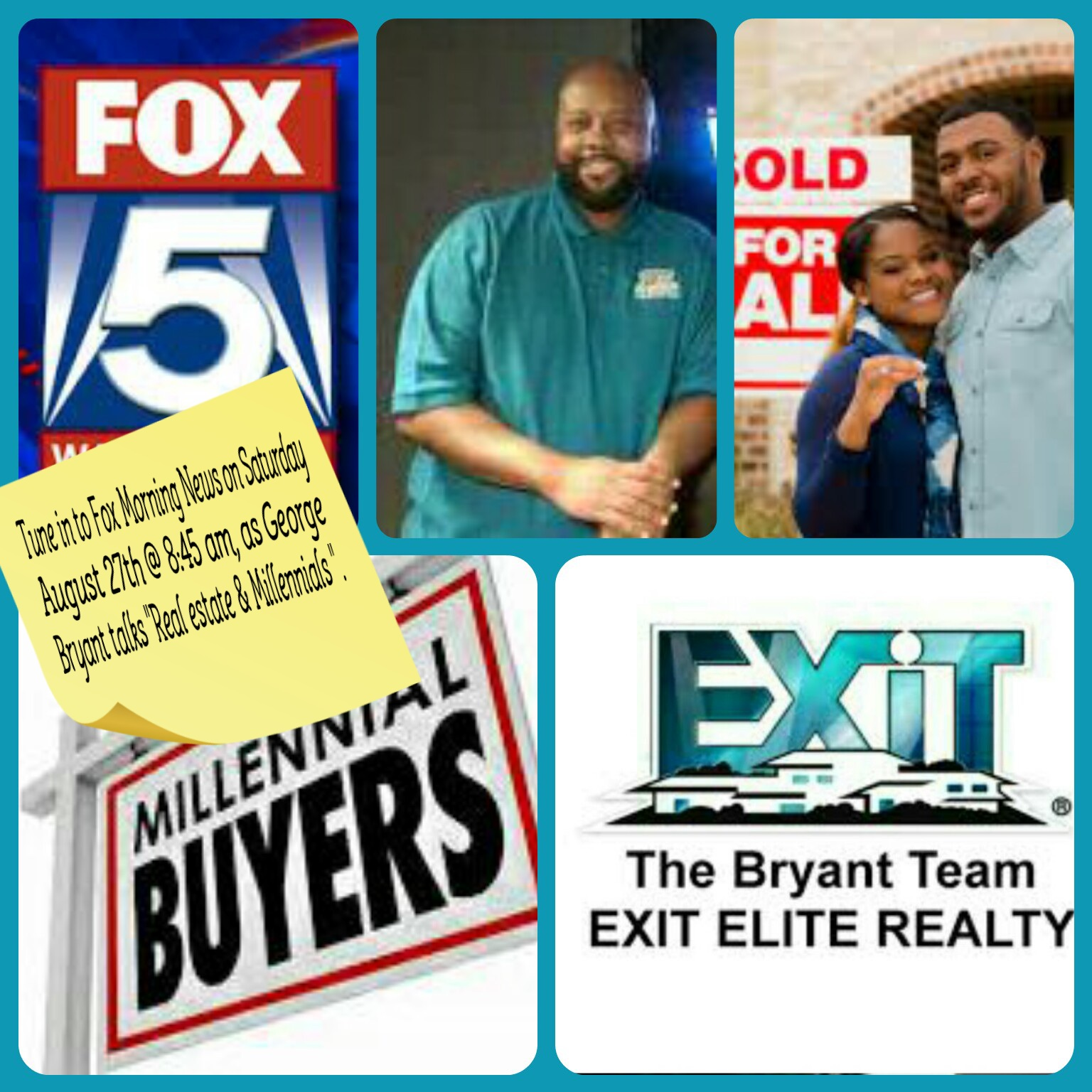 Tune in to Fox 5 next Saturday to hear George Bryant...