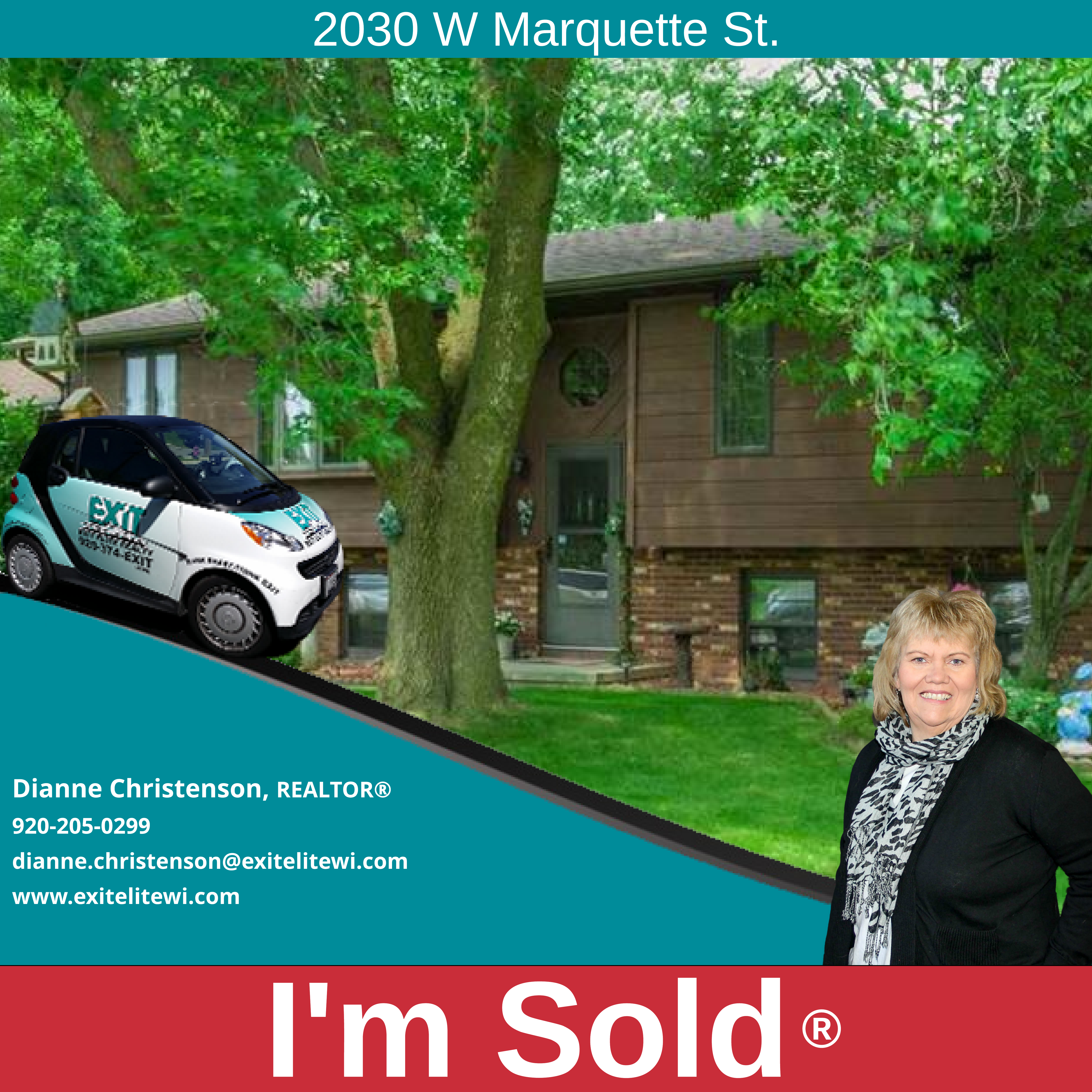 Just Sold! 2030 W Marquette St. Appleton, WI