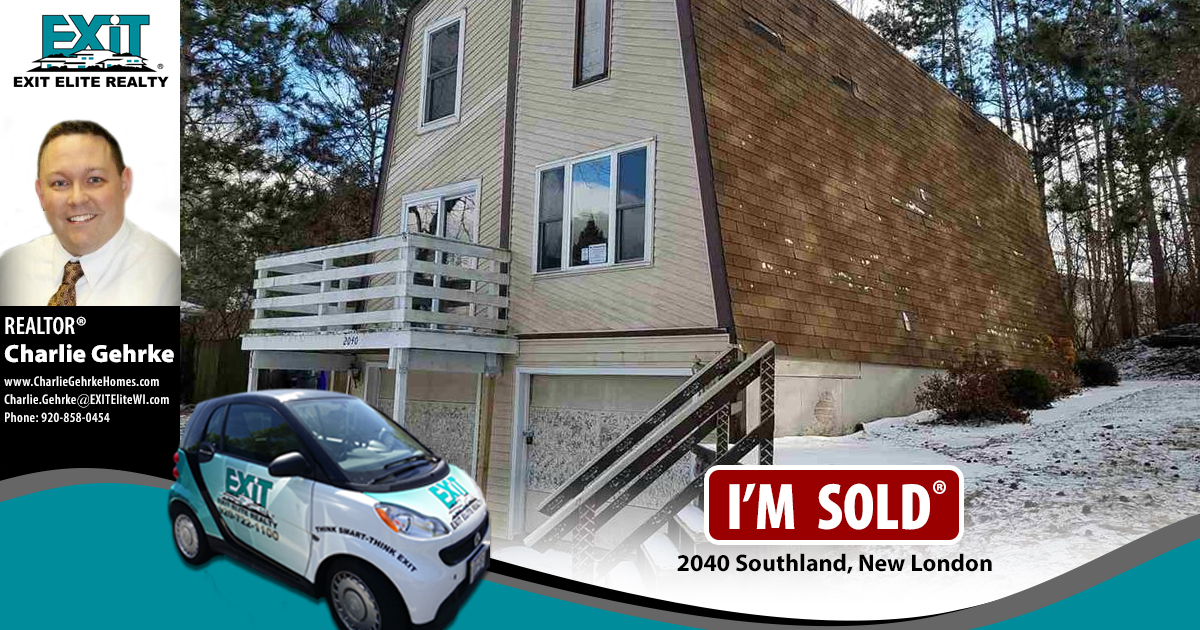 Just Sold! 2040 Southland, New London