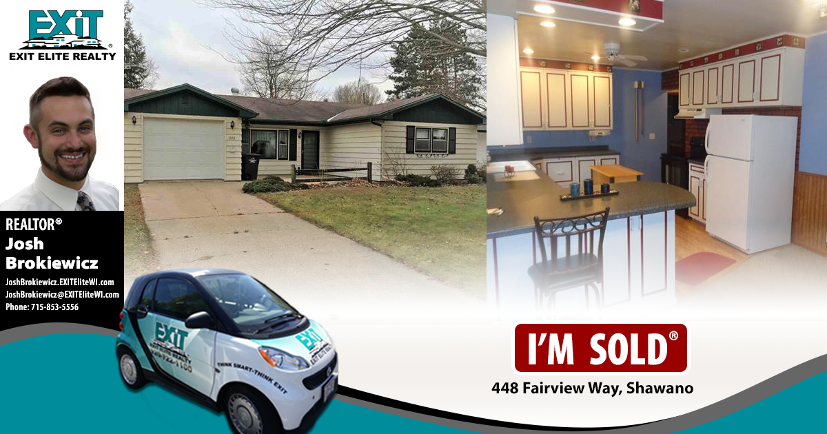 Just Sold! 448 Fairview Way, Shawano