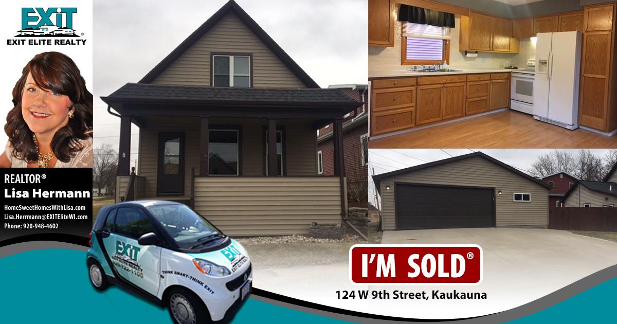 Just Sold! 124 W 9th St, Kaukauna