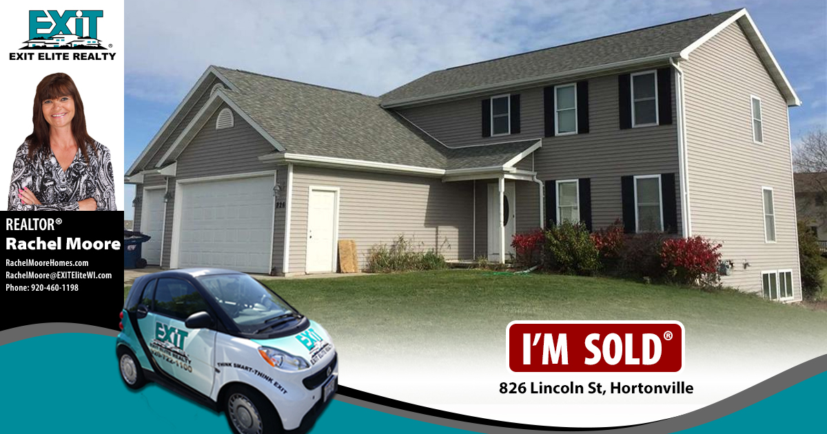 Just Sold! 826 Lincoln St, Hortonville