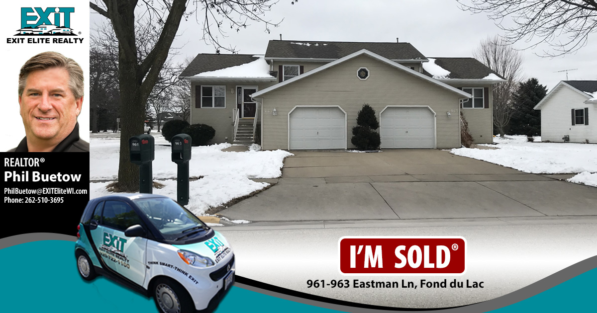 Just Sold! 961-963 Eastman Ln, Fond du Lac