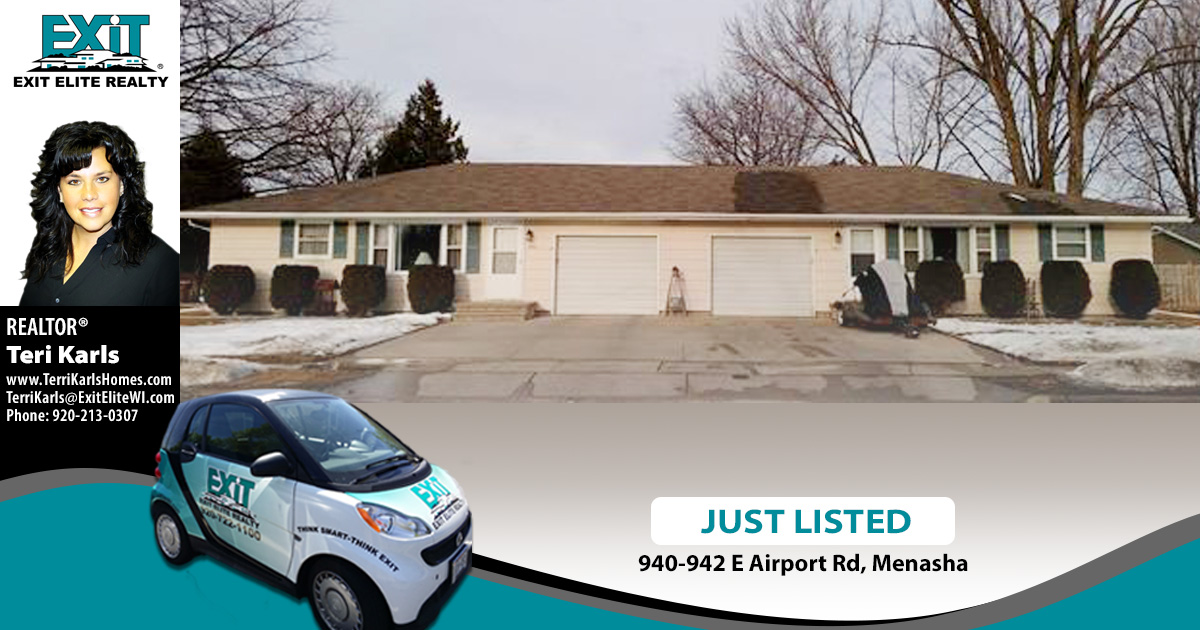 Just Listed! 940-942 E Airport Road, Menasha