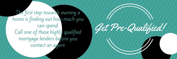 Teal background with black and white circles & text.