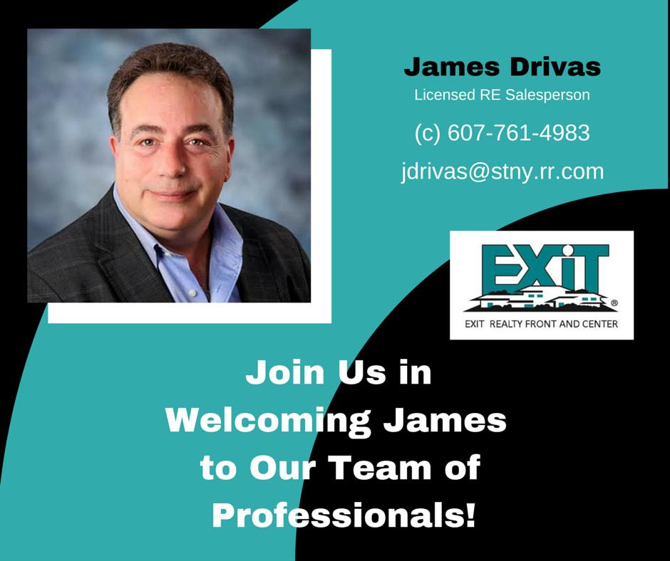 Welcome James Drivas