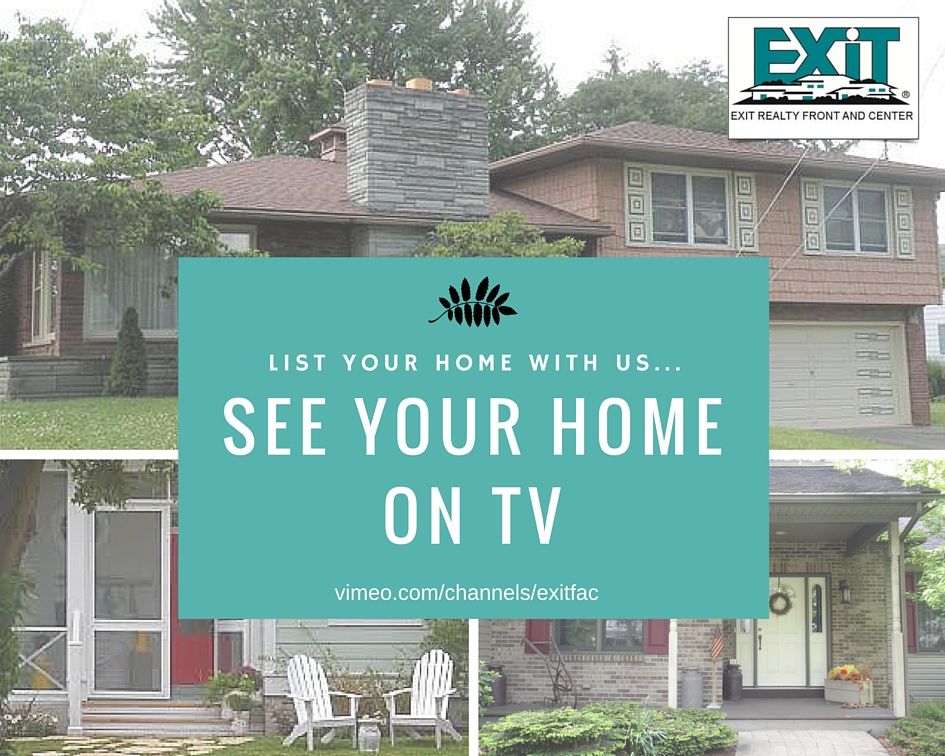 Flyer about getting your home on TV when you list with us