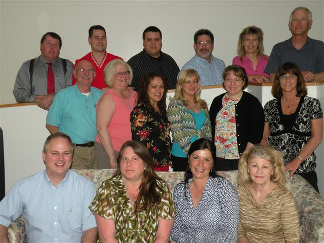 Group photo of real estate agents