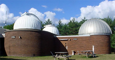 The domes of Kopernick Observatory