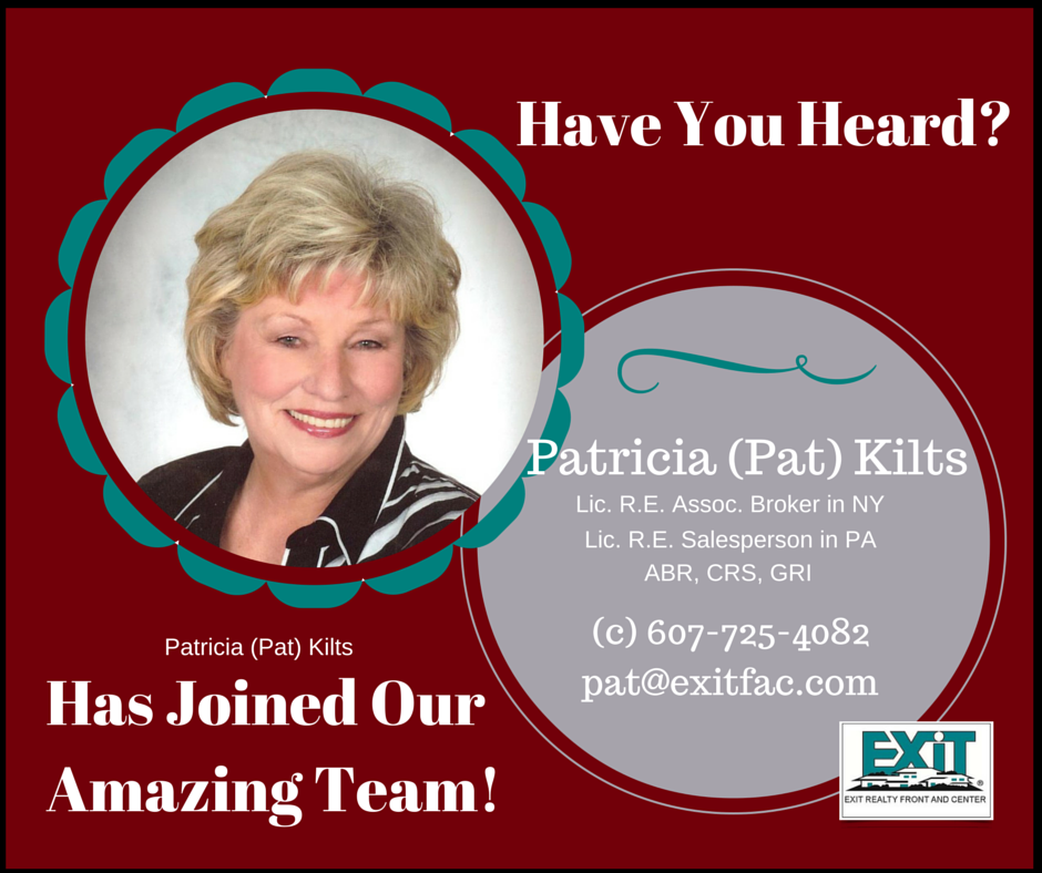 Welcome Pat Kilts to our office